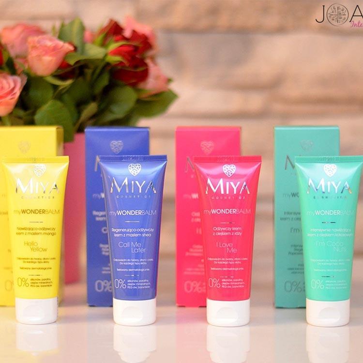 Miya Cosmetics - kosmetyki - opakowania