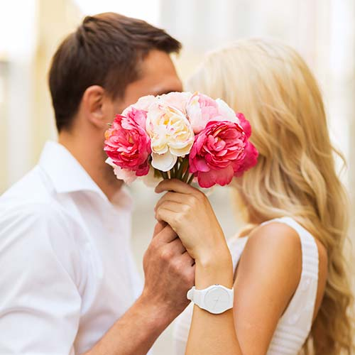 Miya Cosmetics Para z Kwiatami