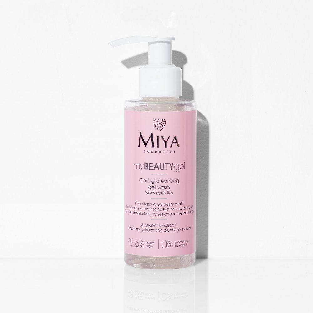 Caring cleansing gel wash