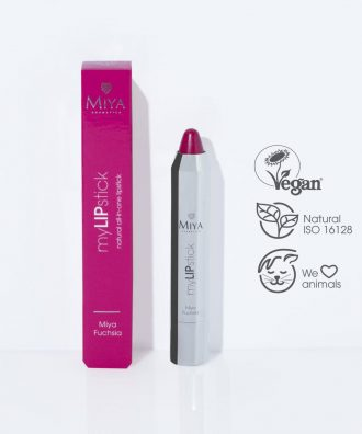 myLIPstick  Natural care all-in-one lipstick, Miya Fuchsia