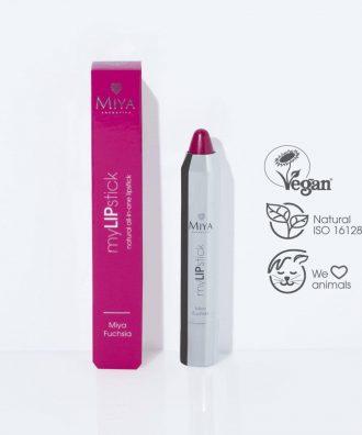 Naturalna pielęgnująca szminka all-in-one, Miya Fuchsia