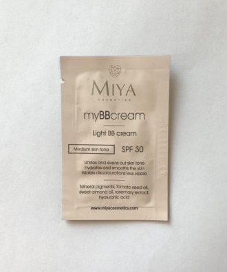 Próbka myBBcream – lekki krem BB SPF30 odcień jasny