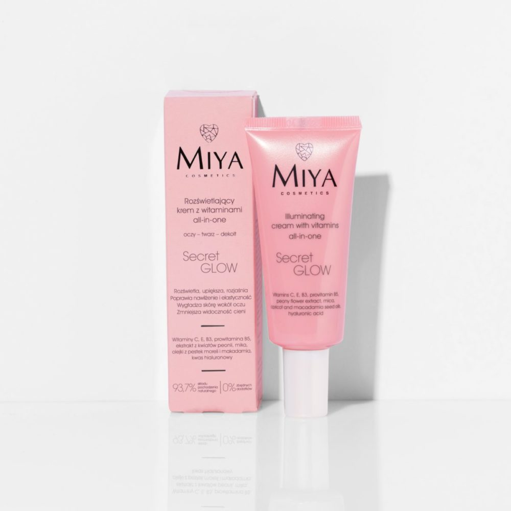 All-in-one illuminating cream with vitamins